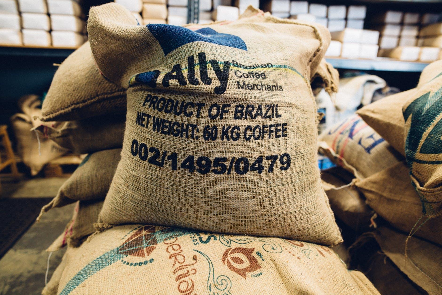 Pěstování kávy v Brazílii